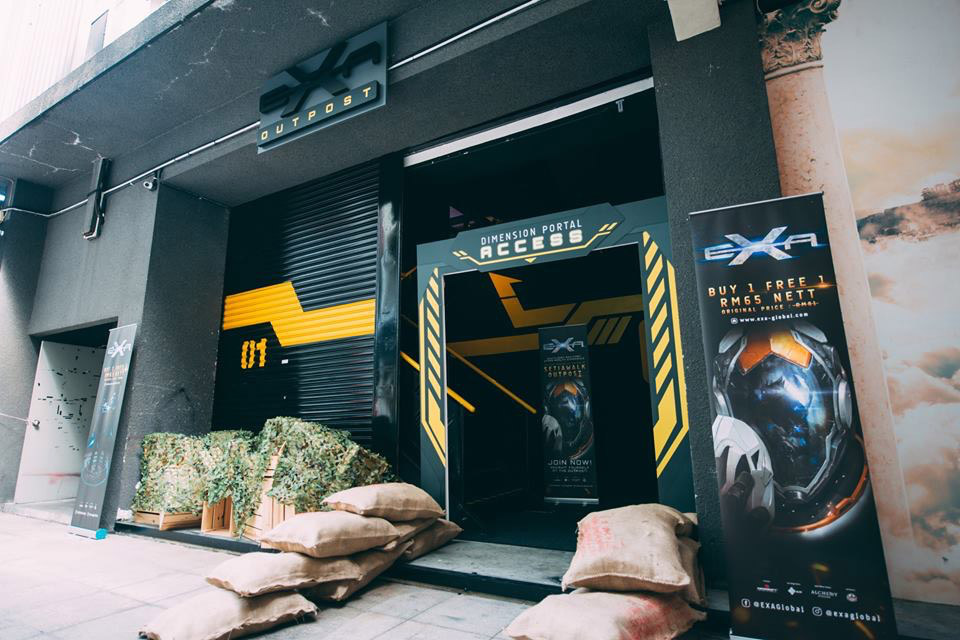EXA Outpost 1 located at SetiaWalk Puchong